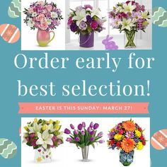 #Easter #flowers #tulips #lilies #daffodil www.brantflorist.com Easter Flowers, Daffodils, Lilies, Beautiful Flowers, Irises, Pretty Flowers, Daffodil, Lily