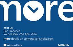 Nokia deverá revelar novos equipamentos com o Windows Phone 8.1 no dia 2 de Abril