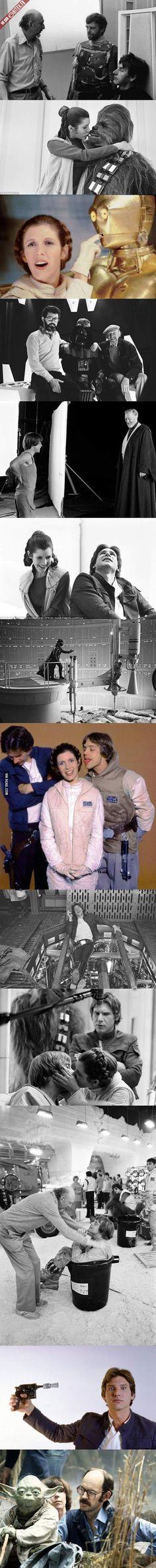 13 photos des coulisses de tournage de Star Wars Episode V