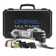 Dremel Multi-Max Oscillating Tool Kit with Quick-Lock Accessory Change Interface and 36 Accessories - Products Lists of Tools and Hardware Home Tools, Diy Tools, Where To Find Pallets, Dremel Multi Max, Oscillating Tool, Dremel Projects, Diy Projects, Take Apart, Popular Mechanics