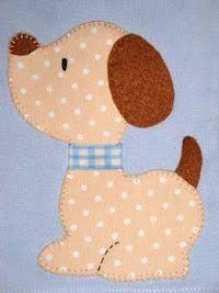 Resultado de imagem para molde cachorro patchaplique