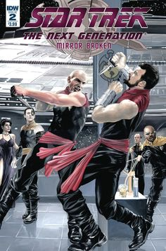 Star Trek: TNG: Mirror Broken - Comics by comiXology Star Trek Books, Star Trek Characters, Fantasy Characters, Akira, Comic Book Covers, Comic Books, Science Fiction, Mirror Universe, Star Trek Images