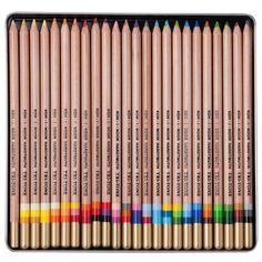 So cool!!! Koh-I-Noor Tri-Tone Colored Pencil Sets - JerrysArtarama.com