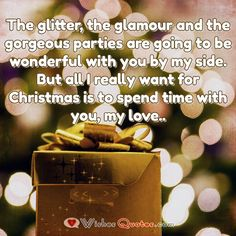 Christmas Message for Boyfriend