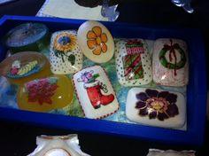 Sabonetes decorados
