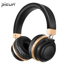 Picun P3 Bluetooth Headphone With Mic. Support TF Card MP3 Wireless Earphone Stereo HiFi Music Headset for Xiaomi iPhone Gaming //Price: $44.80 & FREE Shipping //  #videogames #games #electronics #technology #tech #electronic
