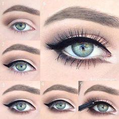 20 Fab Makeup Tutorials for Blue Eyes