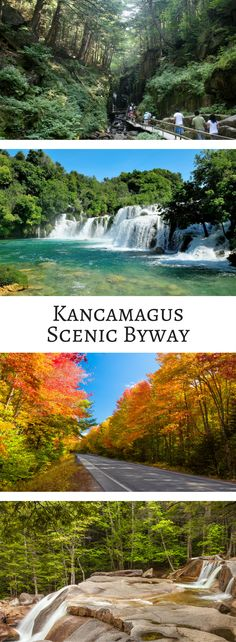 The Kancamagus Scenic Byway is just one of those drives you have to take at least once : See the best of New England along Kancamagus Scenic Byway: An annual fall favorite! An annual fall favorite! Bora Bora, New Hampshire, Places To Travel, Places To See, New England Fall Foliage, Fall In New England, New England Usa, East Coast Road Trip, New England Travel