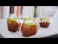 You won't believe how easy it is to make all natural caramel apples!