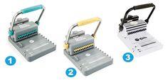 Cómo se usa una encuadernadora de scrapbooking: Cinch y Bind it All