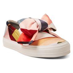Nine West Onosha Slip-On Sneakers, Geo Print Silk