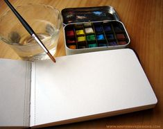 22 ways to reuse an altoids tin - Altoids Tin Water Color Set