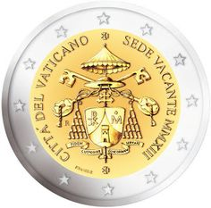 2 Euro Commemorative Coins - Information about recent and near future Eurozone Commemorative 2 euro coins. Piece Euro, French Coins, Money Notes, Euro Coins, Foreign Coins, Gold Money, Gold And Silver Coins, Commemorative Coins, Gold Bullion