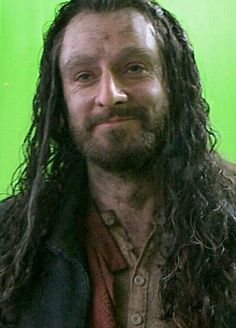 The Hobbit : the Battle of the Five Armies behind the scenes BTS - Richard Armitage as Thorin