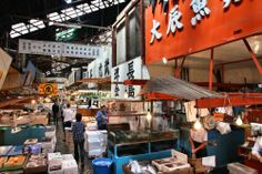 築地市場|Tsukiji Central Fish Market