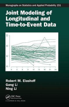 Joint modeling of longitudinal and time-to-event data / Robert M. Elashoff, Gang Li, Ning Li. 2017. Máis información: https://www.crcpress.com/Joint-Modeling-of-Longitudinal-and-Time-to-Event-Data/Elashoff-li-Li/p/book/9781439807828