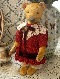 Vintage bear by Elena Bestuzheva