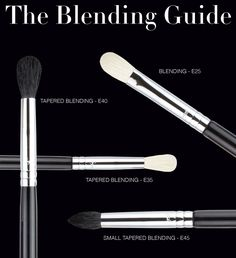 Learn about each of our blending brushes and how to use them to perfect your eye makeup! http://www.sigmabeautytalk.com/2012/11/28/blending-guide/
