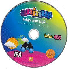 CD ANIMUS IPA KELAS 4, 5, 6 SD/ MI | Toko Buku Rahma