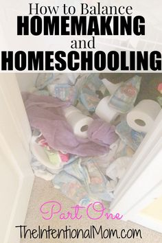 Do you struggle in finding the balance in homemaking and homeschooling? As a 10 year veteran of homeschooling, this mom of 7 shares the tips and tricks YOU can use in YOUR own home.