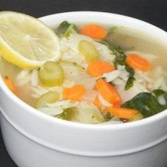 Lemon Chicken Orzo Soup - Allrecipes.com