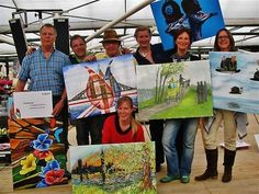 Anita Ammerlaan - Anita Ammerlaan op het Henk Veen Kunstplein Keukenhof 2014 Lees verder in de blog van Anita:  http://anitaammerlaan.exto.nl/blog.html#.UvDD5I2Ya01