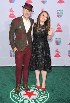 HIT: Jesse kept his original style for the Latin Grammy Awards. MISS: Joy looks like an old lady. Photo: Getty Images