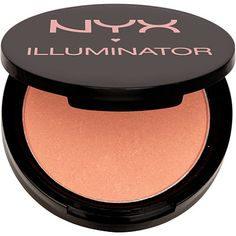 NYX Professional Makeup Illuminator - Narcissistic Description Brighten up your complexion! The radiant shimmer of this illuminator diffuses light so your skin looks vibrant and refreshed while adding a subtle glow. Available in 5 radiant colors. Beauty Dupes, Beauty Makeup, Beauty Hacks, Beauty Products, Makeup Products, Makeup Items, Face Products, Makeup Stuff, Beauty Ideas
