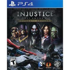 Play your favorite DC Comics heroes and villains in fast-paced combat with Injustice: Gods Among Us-Ultimate Edition for PlayStation Vita. New characters include Batgirl, Lobo, Martian Manhunter and more. Mortal Kombat, Solomon Grundy, Injustice 2, Dc Comics, The Flash, Superman, Killzone Shadow Fall, The Joker, Videogames
