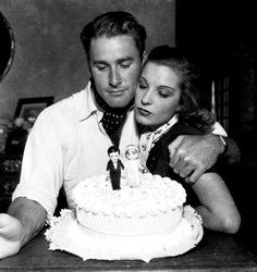 Errol Flynn   Errol Flynn and his one-time wife, Lili Damita share a quiet moment in ...