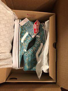 ccb65027c22 Vans x Vincent Van Gogh Almond Blossom SK8 HI Sneakers Size 6 Mens