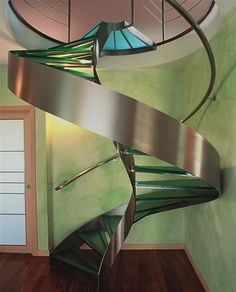 Staircase I found in an old folder. - Stairs, Designs Of Stairs Inside House, Home Stairs Ideas, Staircase Design Ideas, Modern And Retro Staircase Designs For Big And Small Homes Interior Staircase, Grand Staircase, Staircase Design, Interior Architecture, Interior And Exterior, Staircase Ideas, Modern Staircase, Contemporary Stairs, Escalier Design