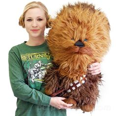 STAR WARS GIANT CHEWBACCA plush.  Need I say more?