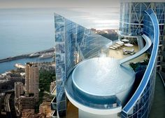 ridic. // 250 Million Monaco Mansion Penthouse