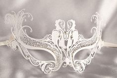 Luxury Venetian Filigree Metal Masquerade Masks - DRAGNET