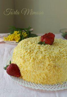 Mimosa cake recipe Women's Day March 8 sweet Statusmamma Giallozafferano BlogGz photo blog tutorial