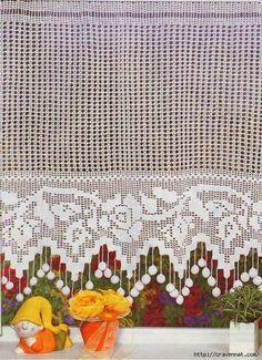 Crochet Curtain Patterns/Diagrams