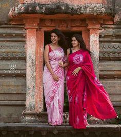 Red Saree, Saree Look, Saree Dress, Stylish Photo Pose, Saree Models, Fancy Sarees, Handloom Saree, Saree Blouse Designs, Office Outfits