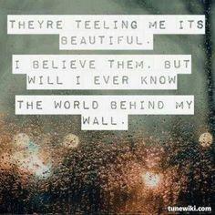 World behind my wall