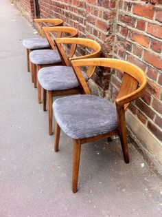 Modernist Art Deco. Greaves and Thomas chairs