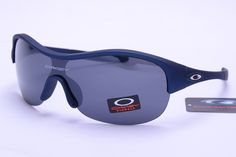 Oakley Holbrook Sunglasses Deep Blue Frame Gray Lens 0569