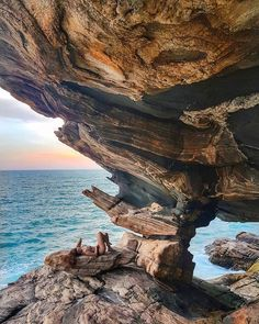 Pedra da Sacristia, Maricá, Rio de Janeiro -- As strong as this rock can be. To withstand every storm. Brazil Vacation, Oahu Vacation, Weekend Vacations, Vacation Spots, Brazil Tourism, Brazil Travel, Brazil Holidays, Visit Brazil, South America Travel