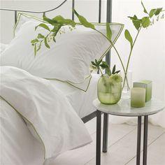Astor Moss Bed Linen | Designers Guild