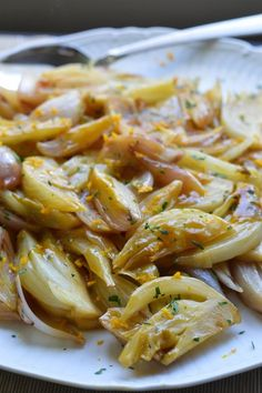 Braised Fennel & Shallots