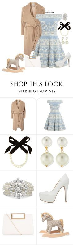 """""""Baby Shower"""" by voidraniee on Polyvore featuring mel, Alexander McQueen, Lulu Frost, Kenneth Jay Lane, Qupid and New Look"""