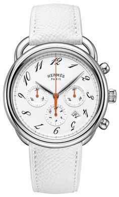 Hermès Arceau Chronograph #hermes #timepiece #gift #ideas