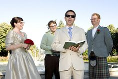 Lighthearted wedding readings that'll make you laugh AND cry | Offbeat Bride