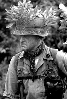 photo by Jack Baird - 1966, US Marine during Operation Harvest Moon, Vietnam.