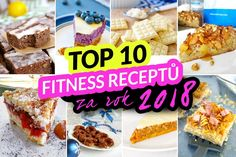 TOP 10 fitness receptů za rok 2018 by Bajola Top Fitness, My Fitness Pal, Fitness Tips, Clean Eating Recipes, Healthy Recipes, No Equipment Workout, Workout Programs, Nutrition, Breakfast