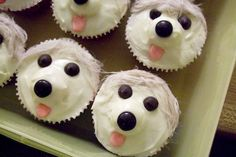 Pupcakes! A great idea for an animal shelter event...